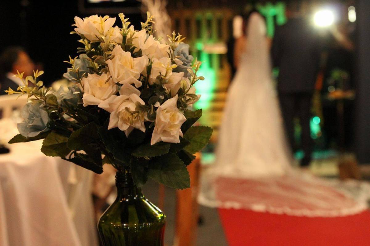 Casamento DIY rústico! Decoração